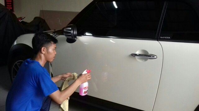 Cleaning My Cars