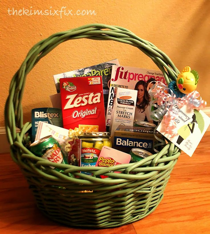 Pregnancy Survival Kit (Mom-to-be Gift Basket) | The Kim Six Fix