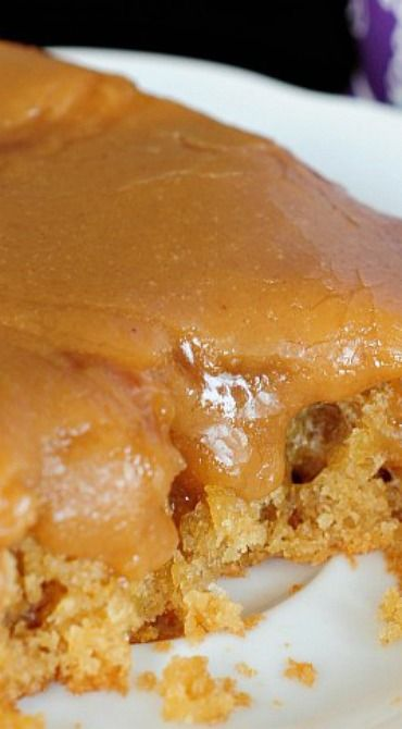 The Best Peanut Butter Sheet Cake Recipe ~ This cake is melt in your mouth delicious.