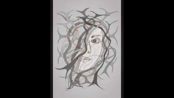 Mixed technique roots I by Mircea Jichici. https://www.facebook.com/jichici.mircea https://www.facebook.com/pages/Mircea-Jichici-painting/284399895040599 http://www.youtube.com/user/MrJichici