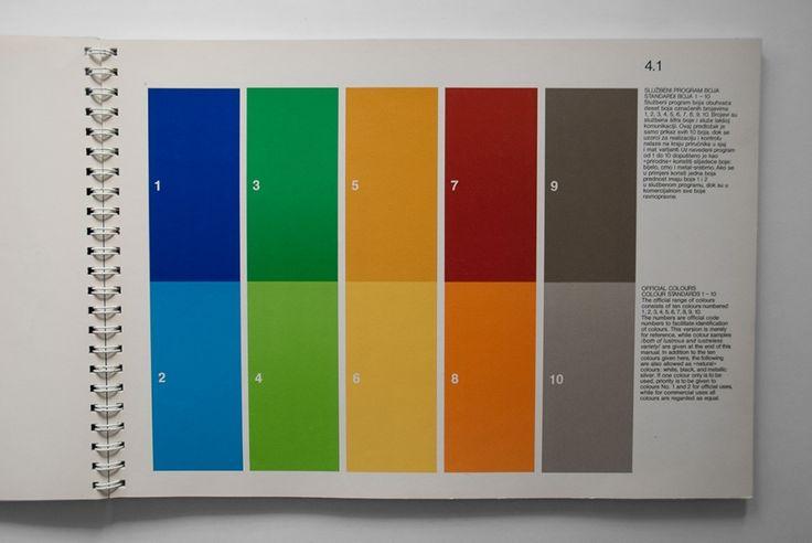 VIII mediterranean games Split 1979 GRAPHICS MANUAL | designers books