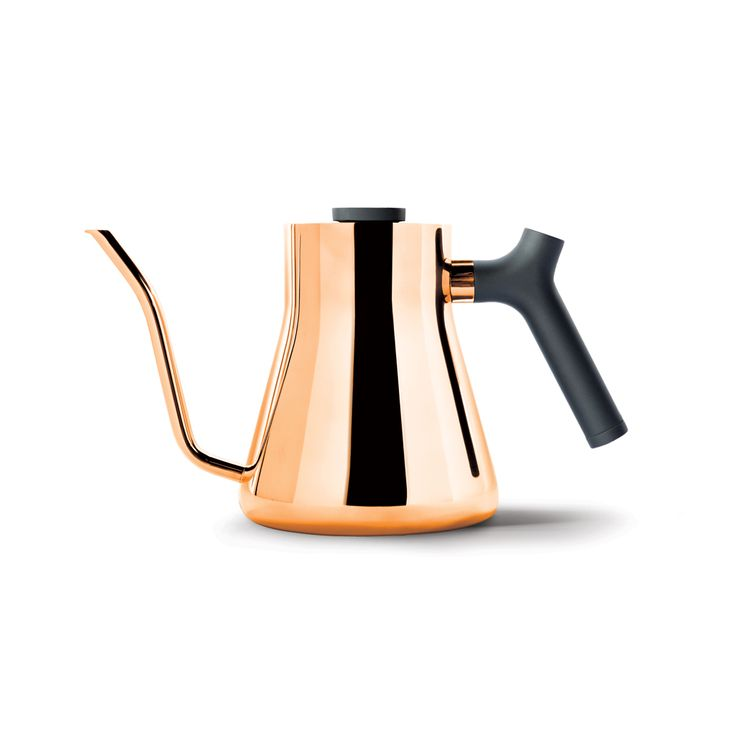 Beautifully functional slow pour kettle for more control and a better tasting coffee The Stagg pour-over kettle by Fellow is designed with a better coffee in mind. Coffee buffs will recognise that a slow pour is crucial from a brewing perspective to ensure a well-rounded, full-bodied cup of coffee. The purpose of pour-over is to continuously replenish the water around …