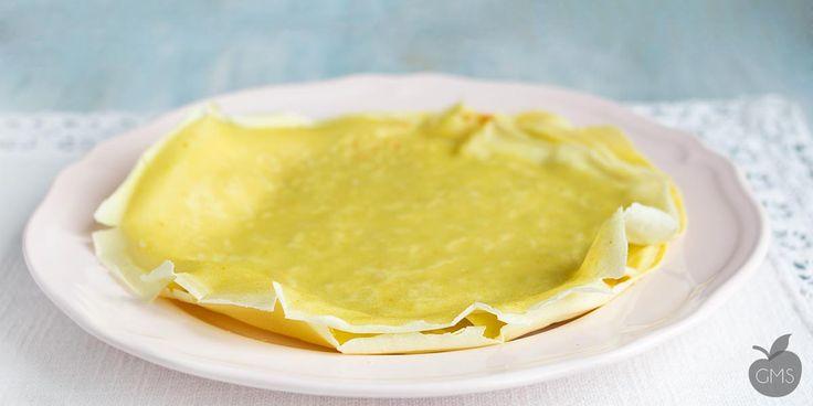 Crepes senza burro e senza uova - Il Goloso Mangiar Sano