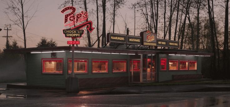 Pop's Chocklit Shoppe Pop Tate Archie Comics Diner-  Riverdale on The CW