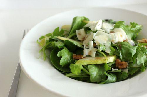 Judy Ferguson's pear and walnut salad -