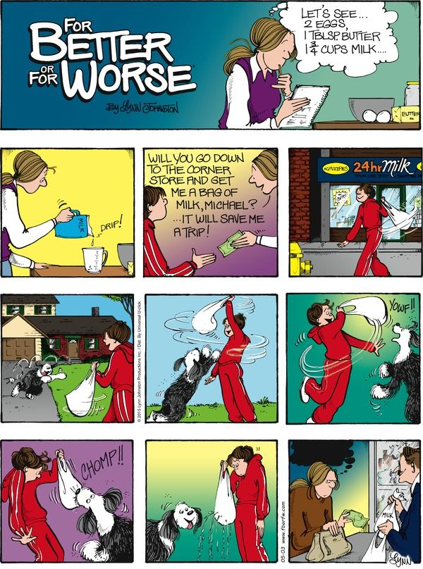 For Better or For Worse  comic for May/03/2015