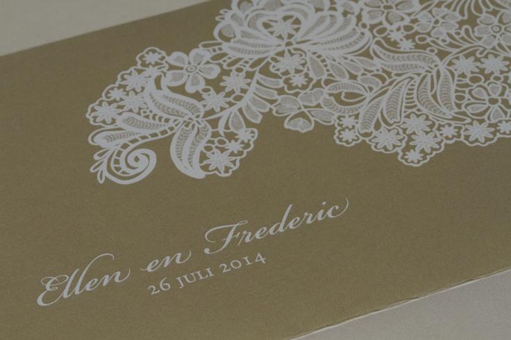 #wedding #weddinginvitation #trouwkaart #announcement #webshop | #Tadaaz