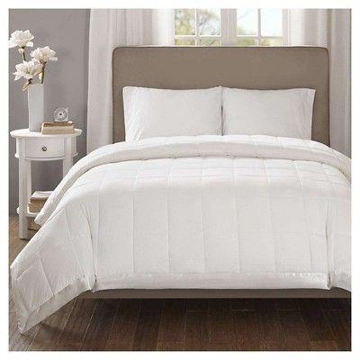 Bed Blanket Parkman Premium Oversized Down Alternative With 3M Scotchgard  (Full/Queen) Ivory