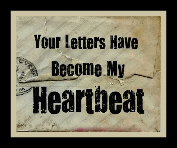 Love Letters Quote