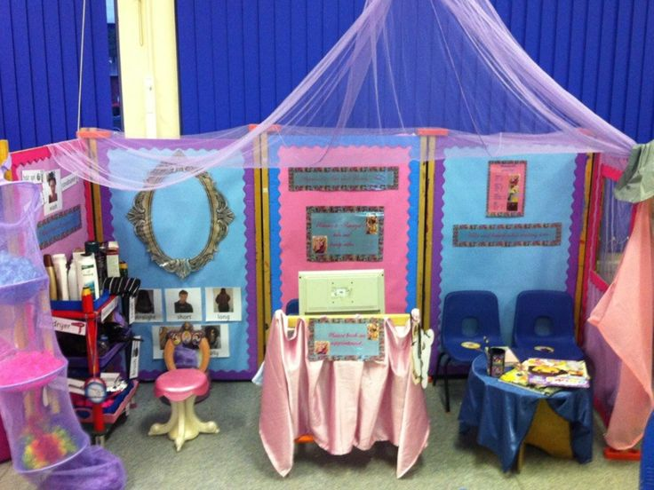 Fairytale Hairdressers Role Play Area Eyfs Play Areas