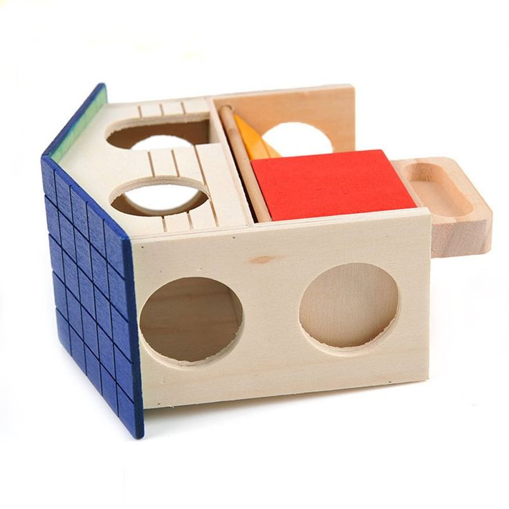 Bwogue Pet Small Animal Hideout Hamster House Deluxe Two