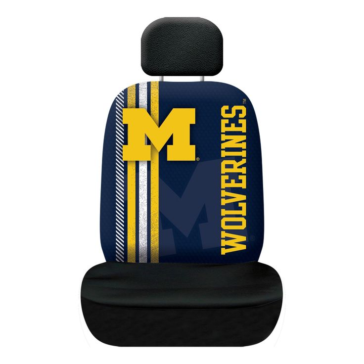 NCAA Michigan Wolverines Rally Seat Cover