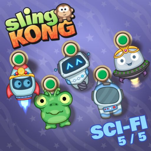 Sci-fi 5/5! #SlingKong http://onelink.to/slingkong