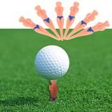 6Pcs Castle Tee Height Control 78mm Golf Accessories