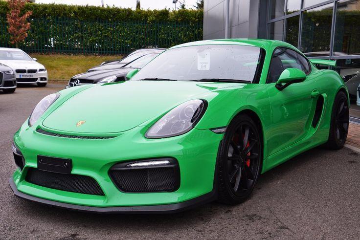 Cool Porsche 2017 - Nice Porsche: Porsche Cayman 3.8 (s/s) GT4 2dr Viper Green+ Bucket Seats  Hip Ho...  Cars 2017 Check more at http://carsboard.pro/2017/2017/06/21/porsche-2017-nice-porsche-porsche-cayman-3-8-ss-gt4-2dr-viper-green-bucket-seats-hip-ho-cars-2017/
