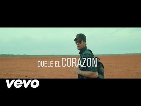 Guarda il video musicale del nuovo singolo di Enrique Iglesias - Duele el corazón feat Wisin. Si tratta del primo singolo estratto dall'11 album di Enrique. #EnriqueIglesias