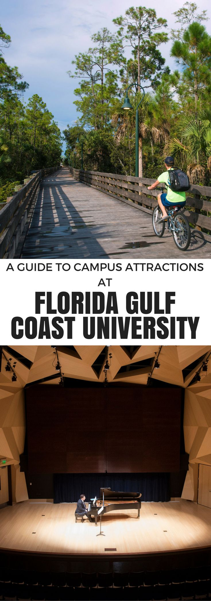 A Guide to Campus Attractions at Florida Gulf Coast University | #Florida #Travel