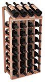 #5: Wine Racks America Redwood 4 Column 8 Row Display Top Kit. 13 Stains to Choose From!