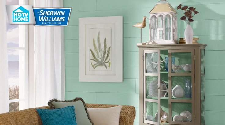 Every color in the coastal cool color palette from sherwin - How many paint colors in a house interior ...