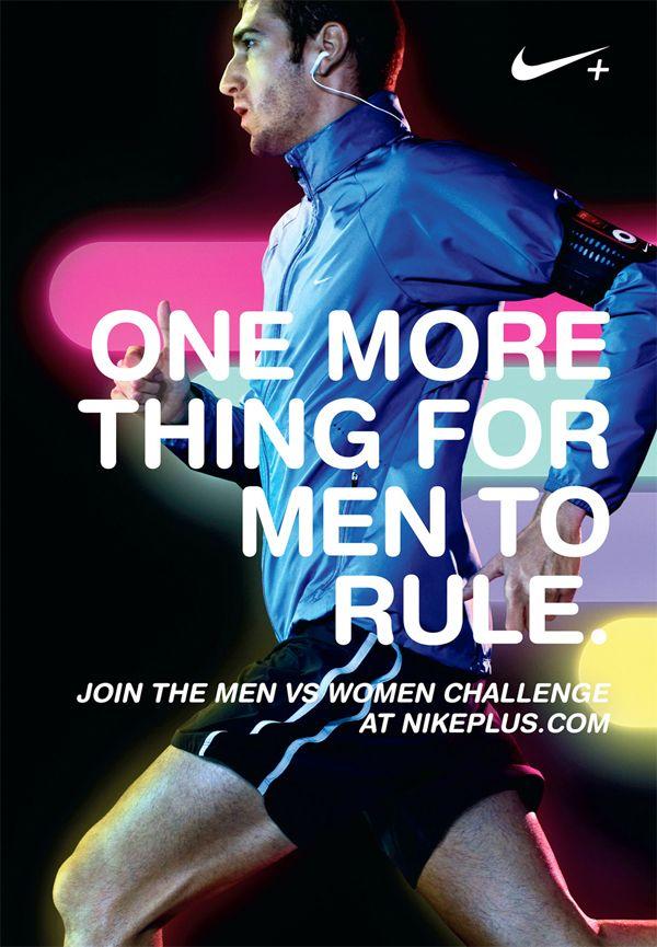 007 Nike Ad Analysis Running Männer vs frauen und Wal