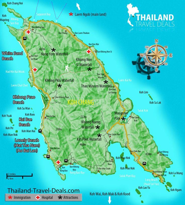 koh chang - Google Search map