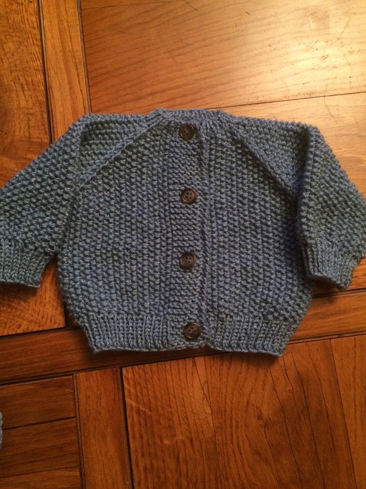Chaleco para Martín, 0-3 meses, lana Rowan, palillo N 4, 50 ptos