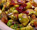 Brussels Sprouts with Hot Bacon Vinaigrette Recipe : Paula Deen : Food Network