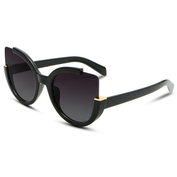 Cat Eye lunettes de Soleil Femmes 2017 Haute Qualité Marque Designer Vintage mode de Conduite Lunettes de Soleil Pour Femmes UV400 lentille lunettes de sol