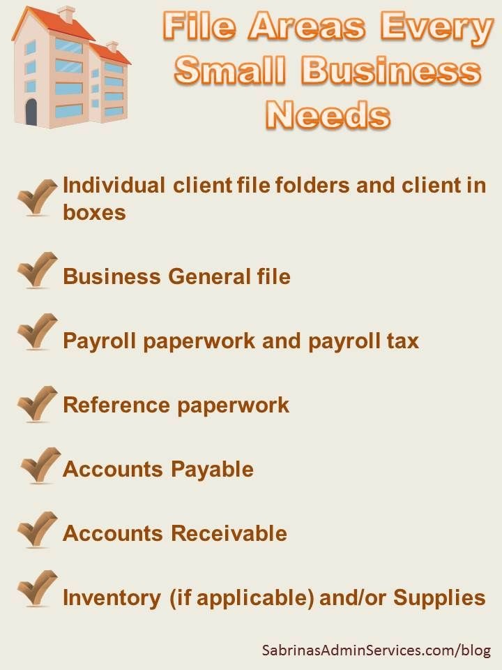 What to Keep in your Small Business Files from Sabrina's Organizing site - Sabrina's Admin Services