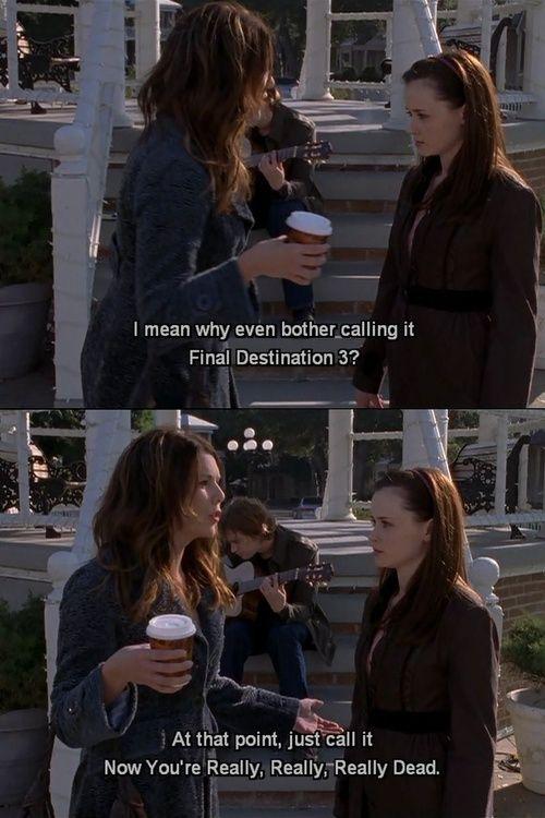Gilmore Girls Season 6.17 I'm OK, Your OK Lorelai Rory