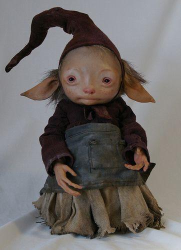 yirren froud character by tulpastudios, via Flickr
