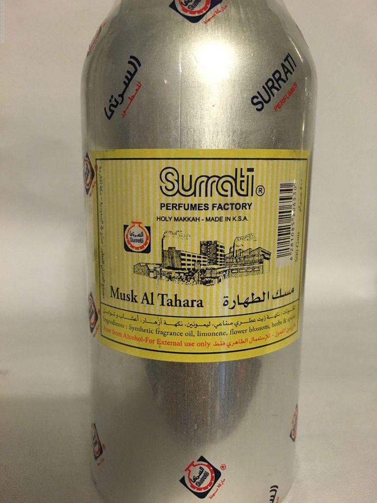 Musk Tahara 500g Conc Perfume Oil مسك الطهارة Aroos Surrati Body Jism WhiteMusk #SurratiofSaudiArabia