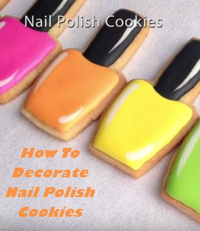 Cake Nail Polish Designs