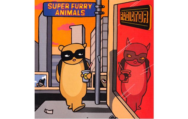 """Super Furry Animals – 'Radiator' -""""Musically fractured and dense when its predecessor was cohesive and blatant, 'Radiator' is nothing less than the paranoid comedown to 'Fuzzy Logic'."""""""
