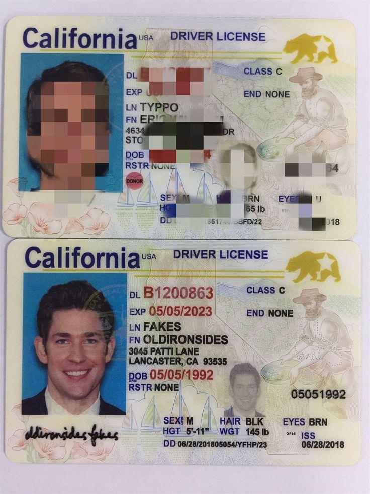 New California Fake Id (New Ca Fake Id)Buy Registered