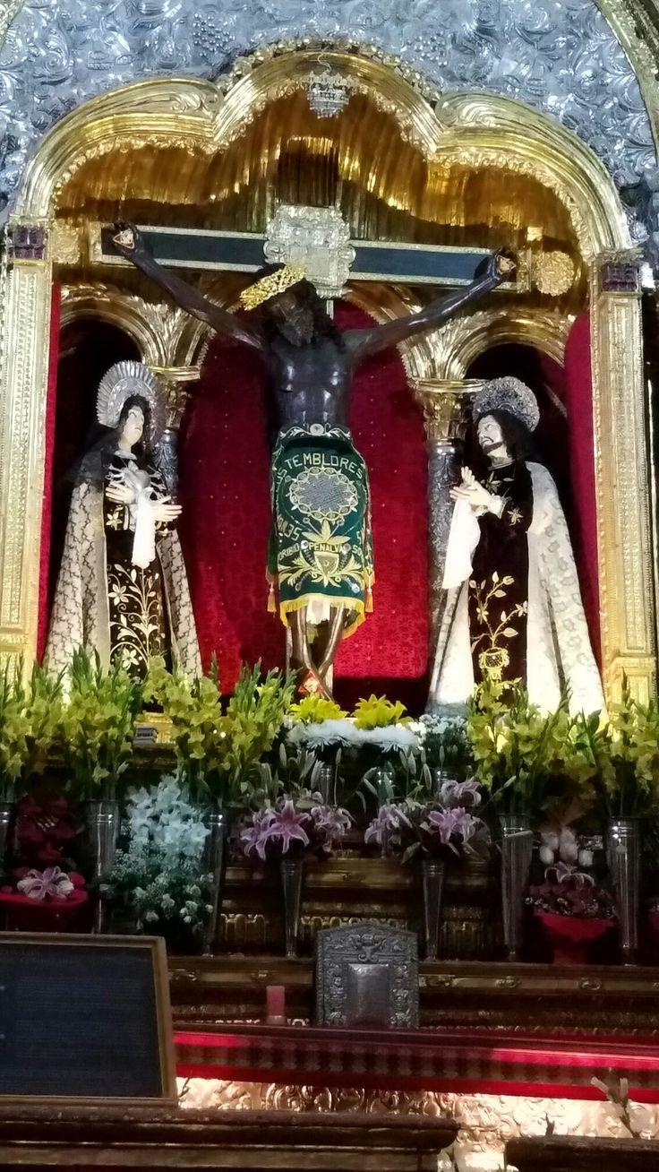 Cusco, Peru - The Black Jesus - Señor de los Temblores -  Catedral del Cuzco o Catedral Basilica de la Virgen de la Asuncion.  Original Photography by R. Stowe
