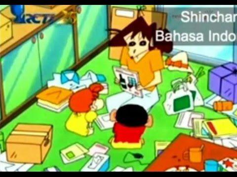 Shinchan Bahasa Indonesia - Shinchan Yang Malas