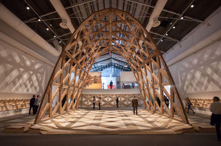 #Venice #Architecture #Biennale 2016: Central Pavilion exhibition by Alejandro Aravena: Solano Benitez / Gabinete de Arquitectura