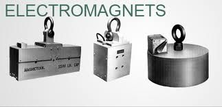 Eletro Magnets such as circular lifting magnet, suspension magnet and rectangular lifting magnets provide a quick and efficient way to lift, lower and vertically or horizontally transport sheet, flat and round steel, and die castings.http://www.crystalmagnets.com/