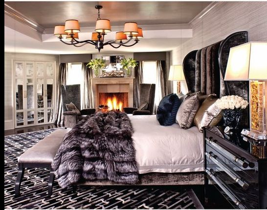 Celebrity Decor Inside Bruce And Kris Jennerus Old Hollywood Glamour  Calabasas Home With Hollywood Glam Bedroom On A Budget.