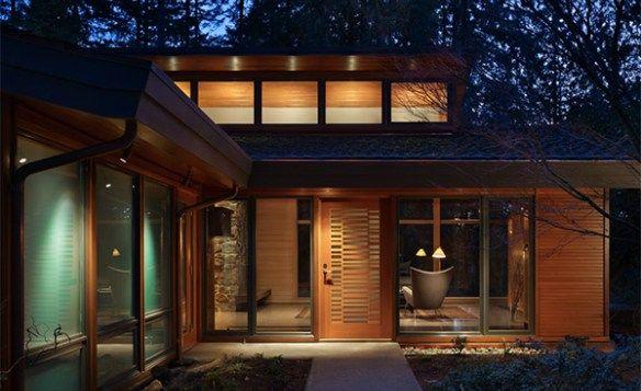 Model Rumah Idaman Sederhana Di Desa 9 Desain Rumah Minimalis Eksterior Rumah Arsitektur Rumah Kontemporer