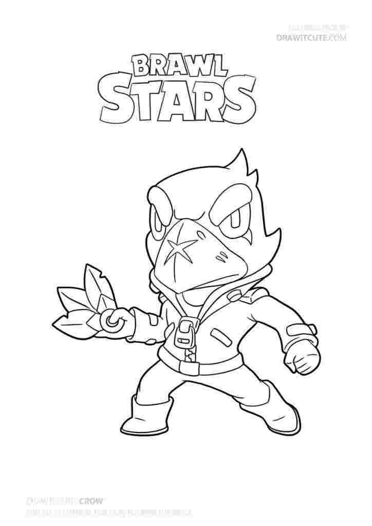 Download Or Print This Amazing Coloring Page Brawl Stars Coloring Pages Leon Coloring Pages Brawl Stars In 2021 Star Coloring Pages Drawing Tutorial Coloring Pages
