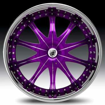 purple rim... want these will be looking now
