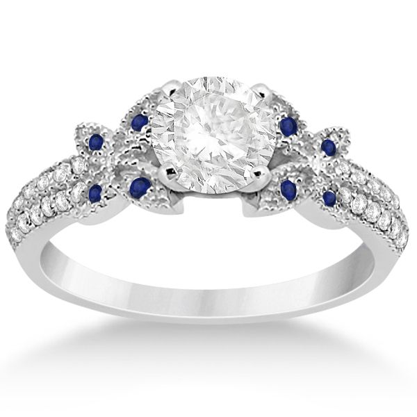 165 best Butterfly Engagement Ring images on Pinterest Butterfly
