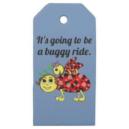Ladybug Movie Buff Tag it - craft supplies diy custom design supply special