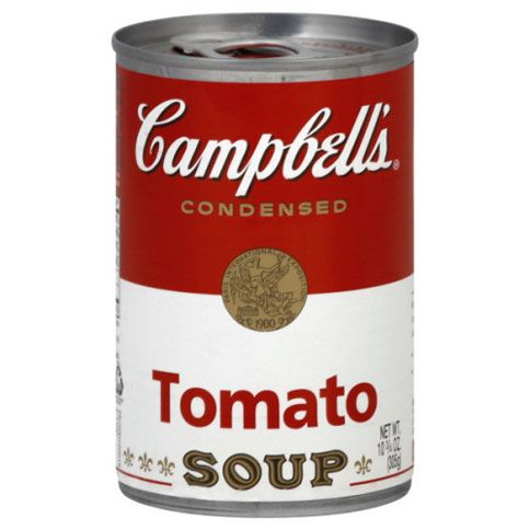 12 Easy Ways to Dress Up a Can of Tomato Soup - Bon Appétit (Some of these are quite fancy...a little much for the elementary school crowd - but still good ideas to build upon, especially the polenta/parmesan one.)
