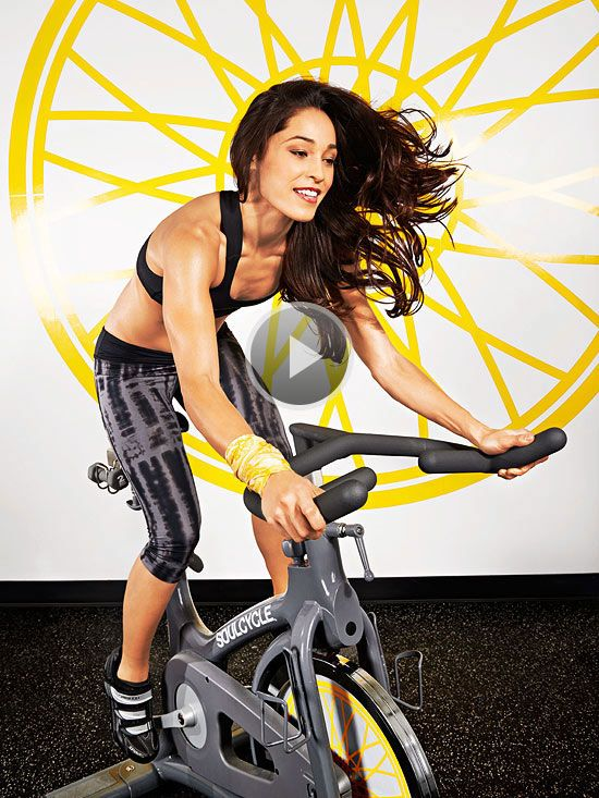 Watch Upper Body Exercises for Indoor Cycling in the Fitness Magazine Video