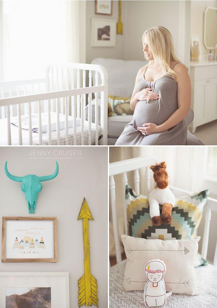 Cool nursery design Franklin photographer, family, newborn, babies, maternity - jenny cruger photography