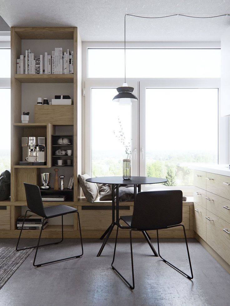 Design features can be kept to a minimum when spaces are at their tightest. A…