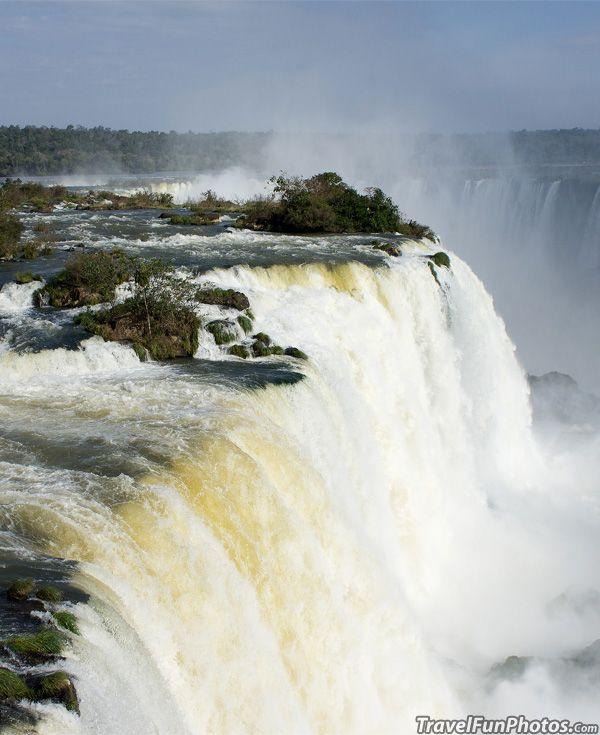 Foz do Iguaçu Waterfall in South Brazil - So Glorious !